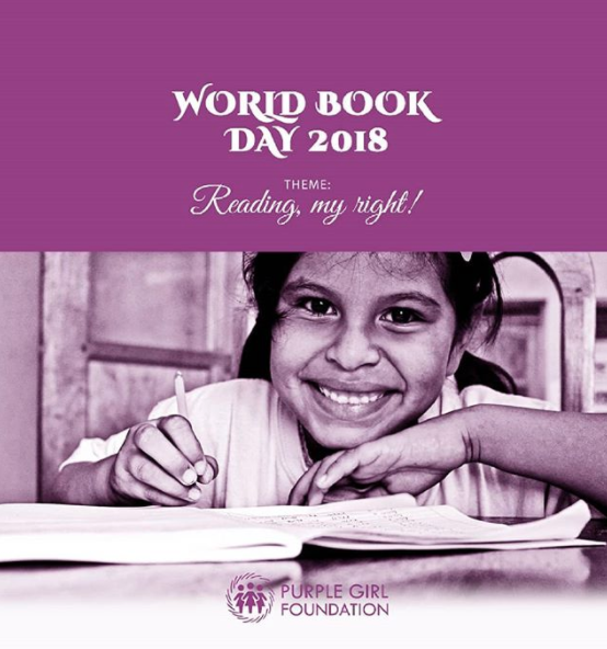 Give her a book today! #WorldBookDay